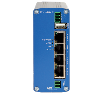 MC-LRS WAN/LAN Server 3-Port Switch + WAN